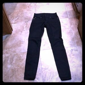 Guess black jeans super stretch
